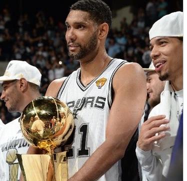 ¡San Antonio Spurs campeón de la #NBA 2013-2014!