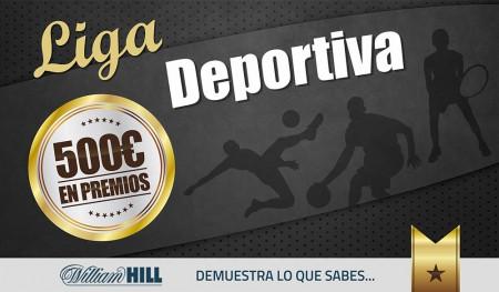 Liga Deportiva #Febrero 2016: 500€ en premios, inscripción GRATUITA