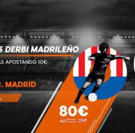Real Madrid a cuota @11 y Atletico de Madrid a cuota @8