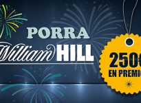 Porra WilliamHill con 250€ en premios